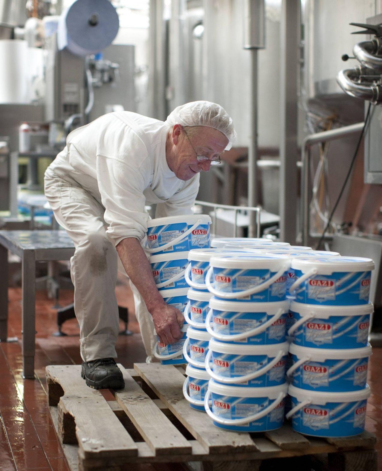 Joghurtherstellung