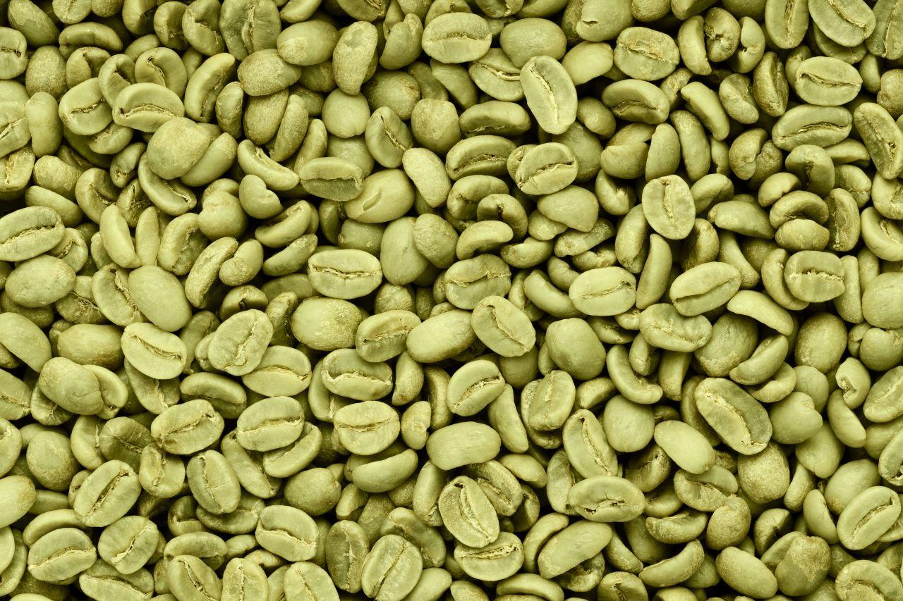 Kaffeebohnen grün