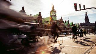 Fahrrad Highway in Kopenhagen