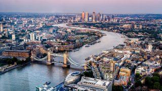 London City von oben