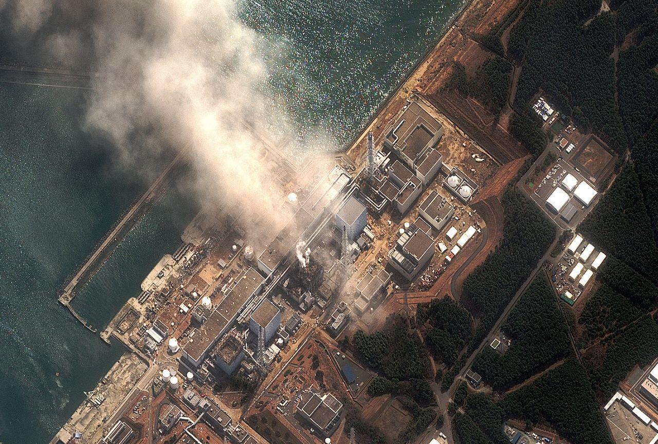 Luftaufnahme Fukushima