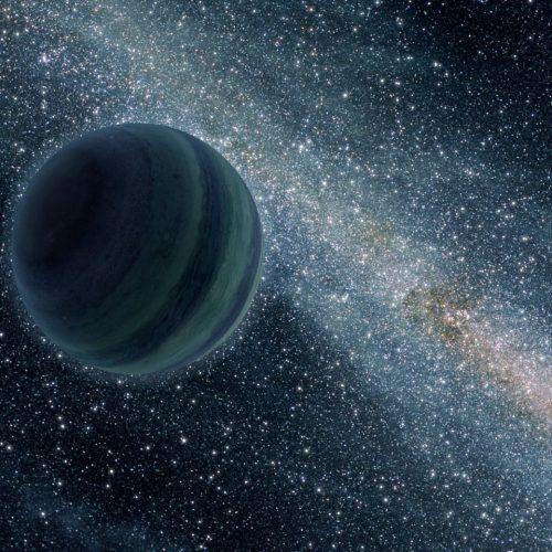 So stellt sich die NASA einen herrenlosen Planeten vor - dunkel und ohne Sonne.
