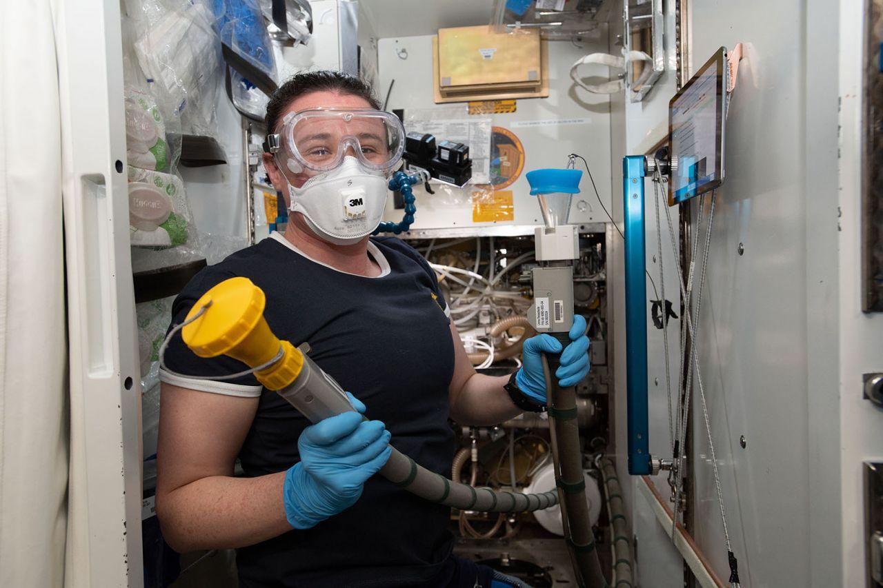 Wie gehen Astronauten aufs Klo?