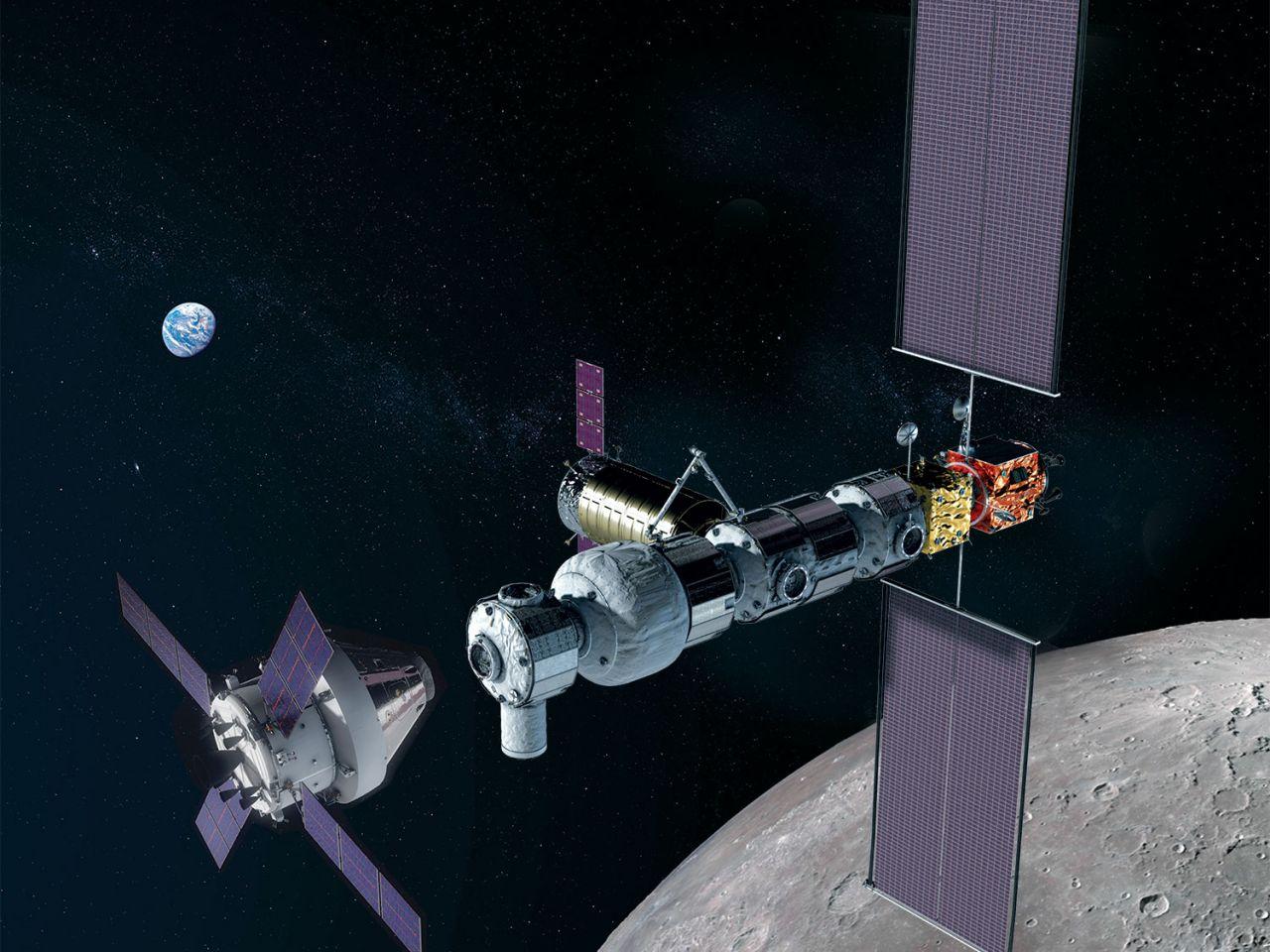 Geplante Raumstation Lunar Gatway
