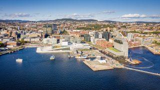 Der Hafen von Oslo