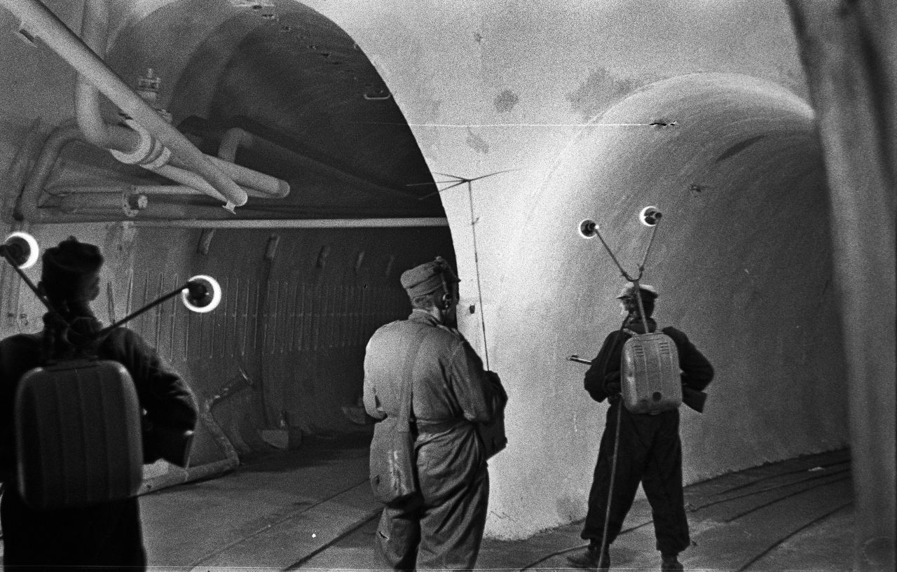 Ostwall polnische Soldaten 1950er