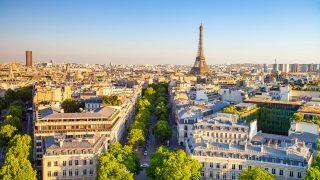 Paris mit Blick auf den Eiffelturm