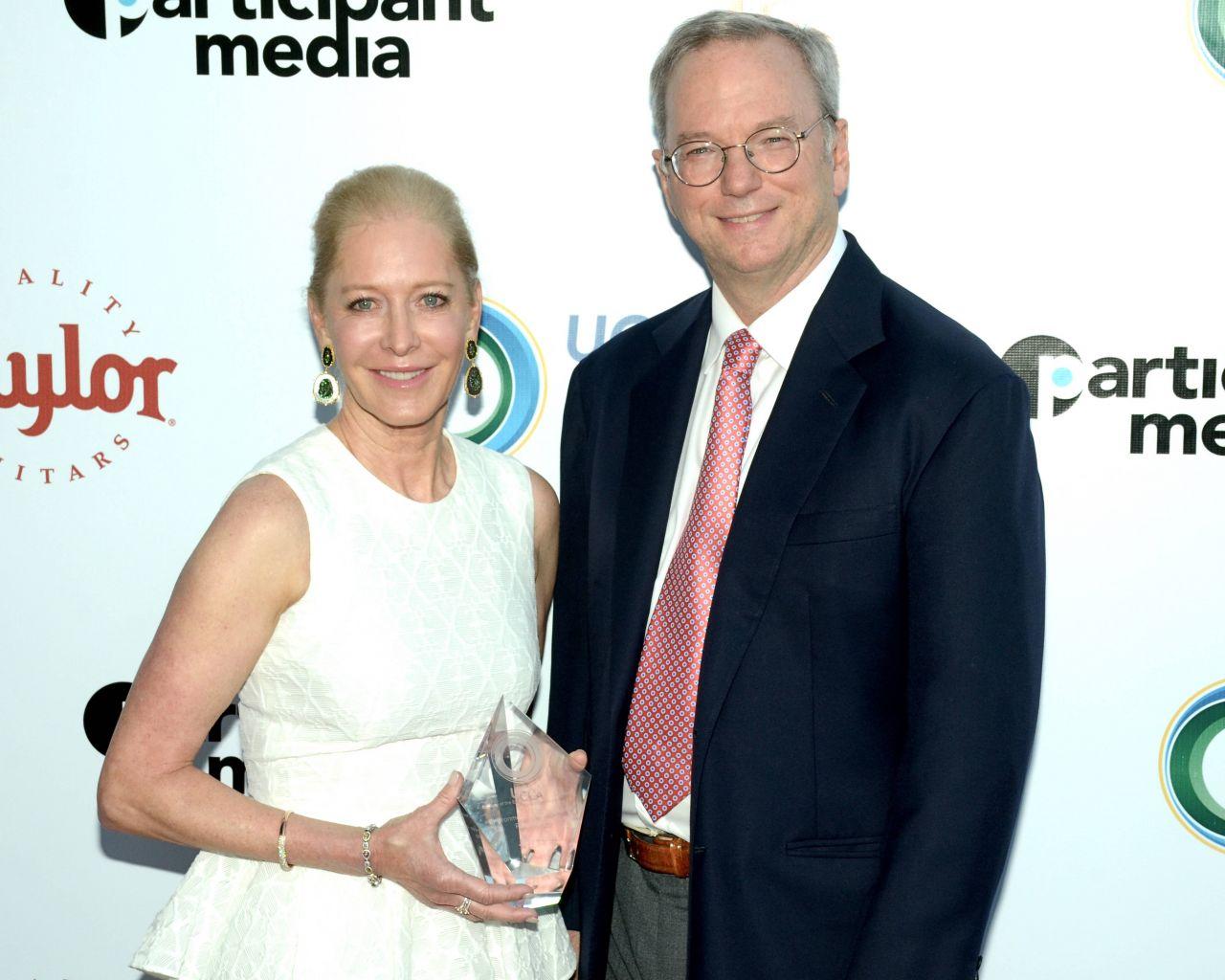 Wendy und Eric Schmidt