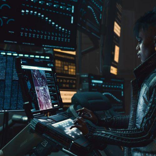 """Eine Szene aus dem 2020er Game """"Cyberpunk 2077"""""""