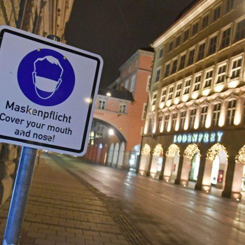 Kommt nun doch der harte Lockdown? Maskenpflicht im öffentlichen Raum besteht, wie hier in München, inzwischen in fast ganz Deutschland
