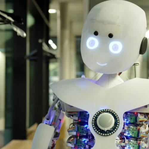 Roboy ist der weltweit menschenähnlichste Roboter.