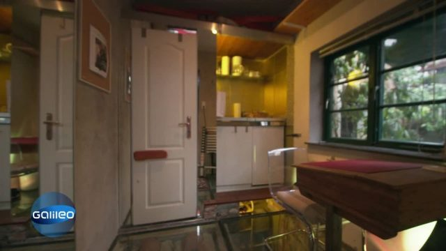 7 Quadratmeter Wohnfläche: Das kleinste Haus Deutschlands