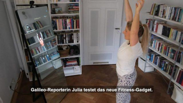 Der smarte Fitness-Spiegel