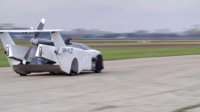 Dieses Auto kann fliegen - 10s