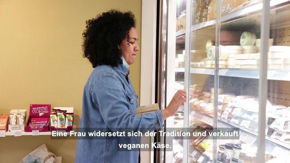 Frankreichs erste vegane Käsemacherin