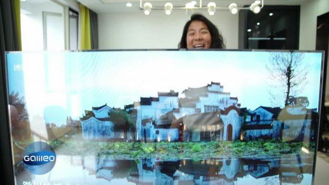 G-Checkt: Der erste transparente Fernseher