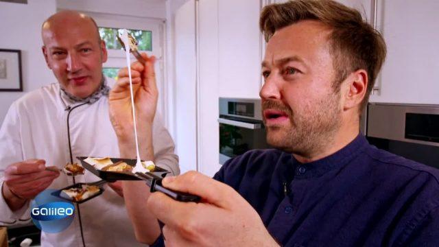 So gelingen Desserts mit dem Raclette