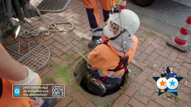 Stadt, Land, Held: Pflasterstein-Abbau  vs. Kanalarbeiter