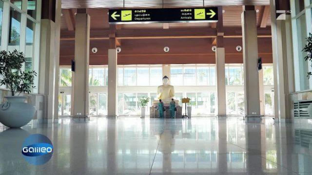 Verlassen und dennoch im Betrieb: Der Geisterflughafen von Sri Lanka