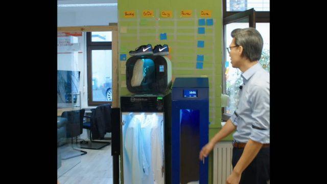 Waschmaschine ohne Wasser - 10s