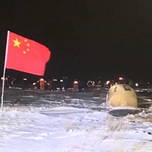 Chang'e 5 ist auf der Erde gelandet