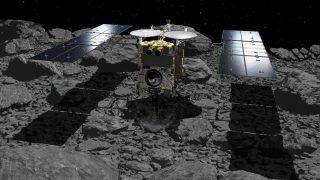 Hayabusa 2 nimmt Probe auf Asteroiden Ryugu