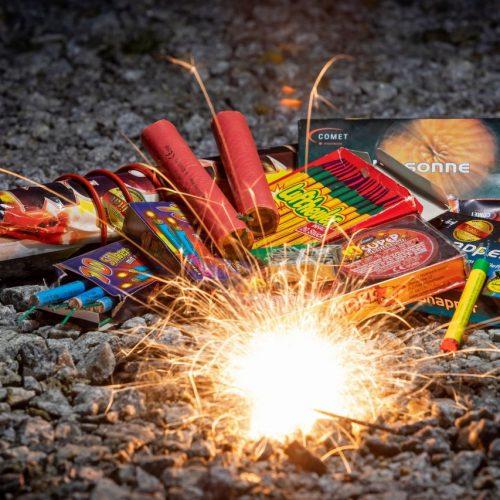 Feuerwerks-Verbot an Silvester