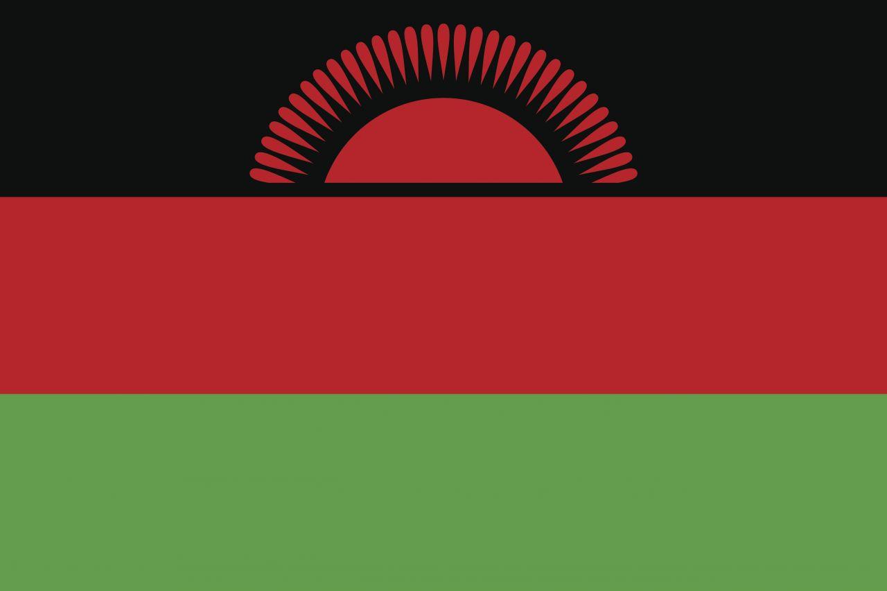 Flagge Malawi