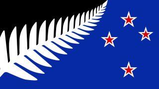 Entwurf Flagge Neuseeland