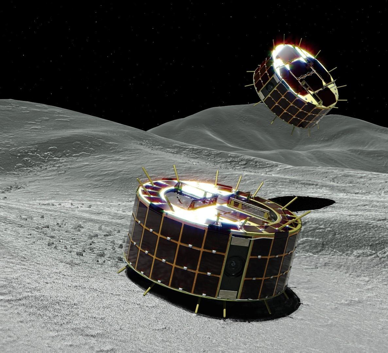 Minerva-Rover auf Ryugu