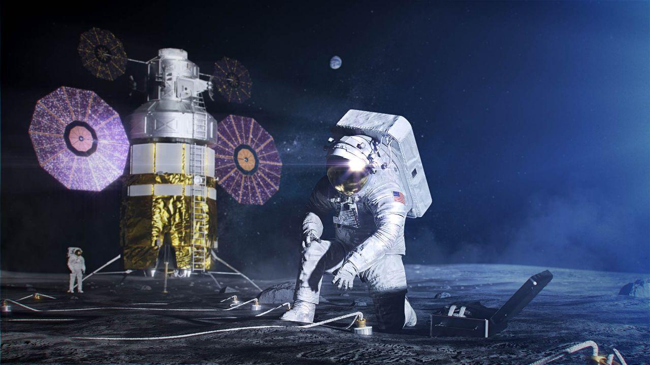 Illustration der geplanten Artemis-Mission