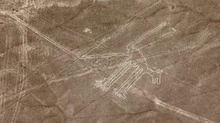 Nazca Hundebild in Peru