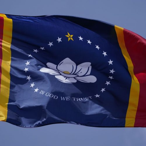Neue Flagge Mississippi