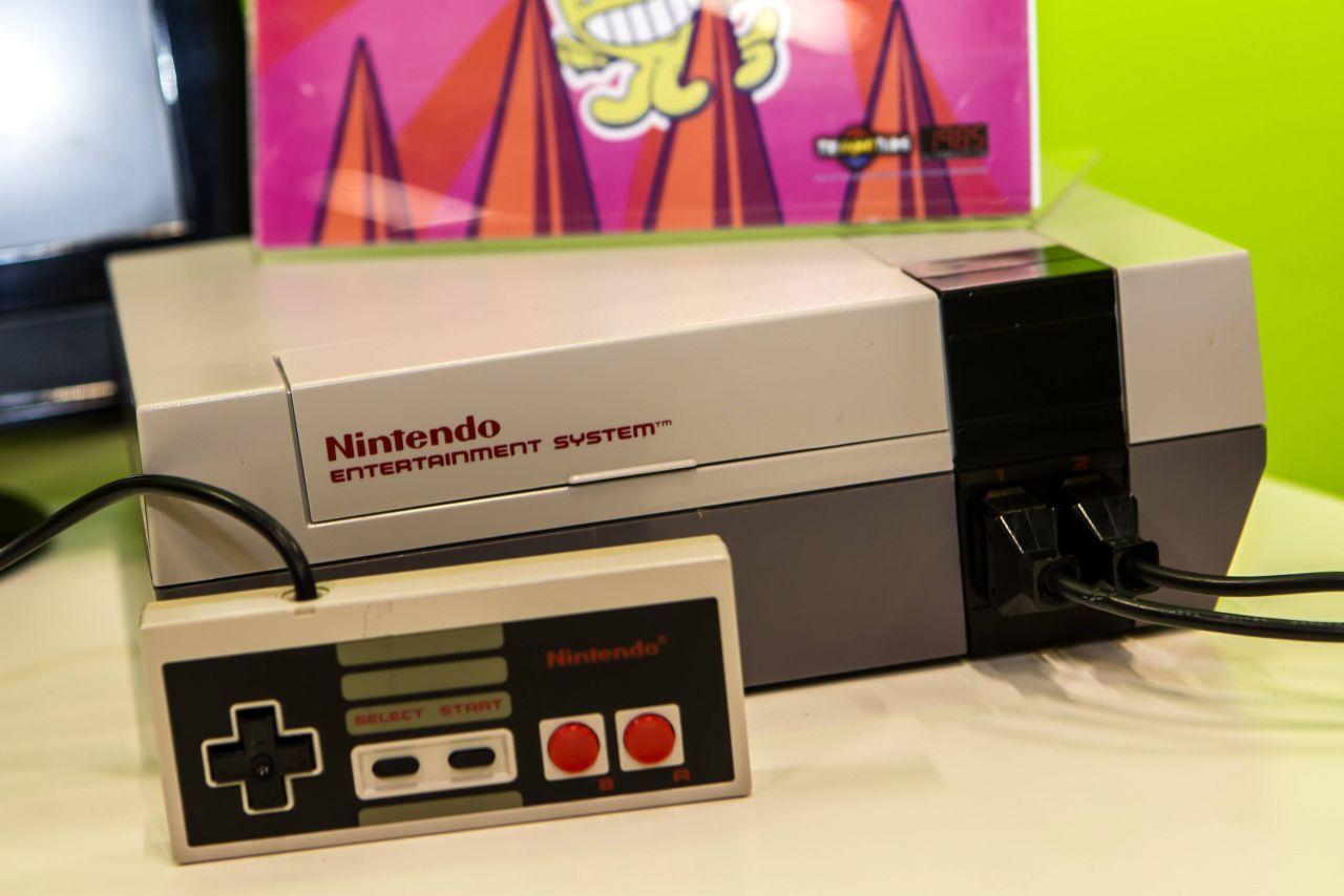 Nintendo Konsole mit Joystick