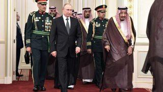 Salman Al Saud und Wladimir Putin
