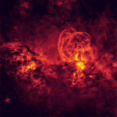 Emissionsnebel NGC 3576