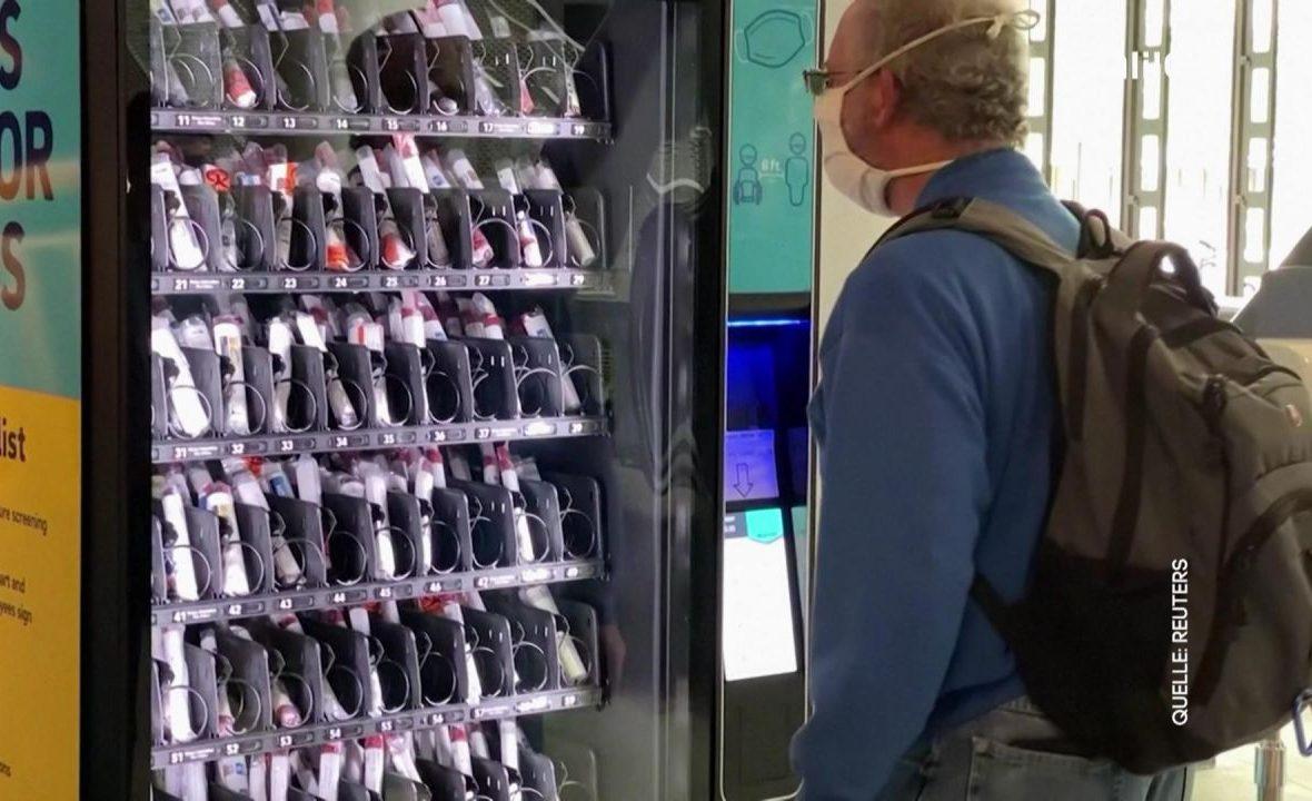Clips der Woche: Von Corona-Test-Automaten bis zu illegalen Sandwiches