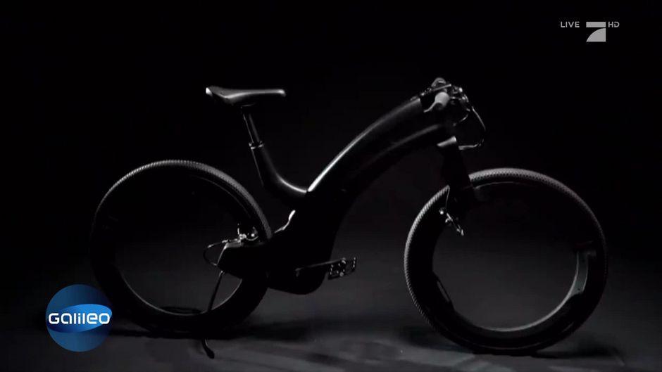 G-nial: Ein E-Bike ohne Speichen