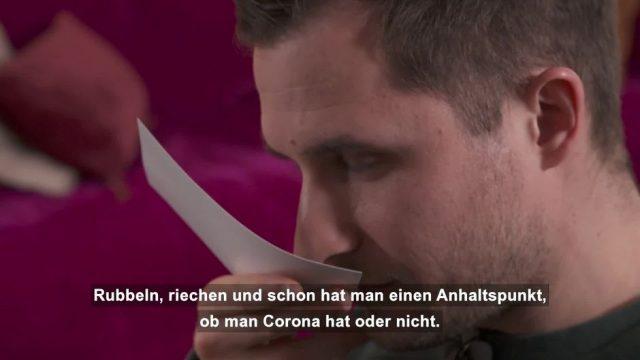 Geruchstest gegen Corona