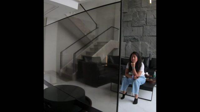 Transparenter Fernseher - 10s