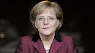 Bundeskanzlerin Angela Merkel bei Neujahrsansprache 2008