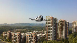 Autonome Taxidrohne Ehang EH216