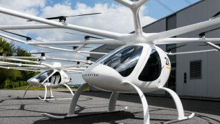 Autonome Taxidrohne Volocopter 2X -VC200