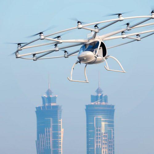 Autonome Taxidrohne von Volocopter