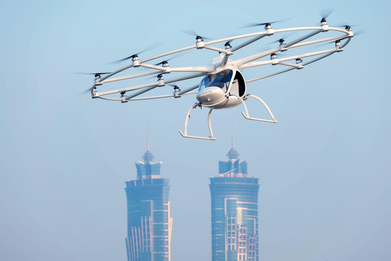 Autonome Taxi-Drohnen: So gehen wir bald in die Luft