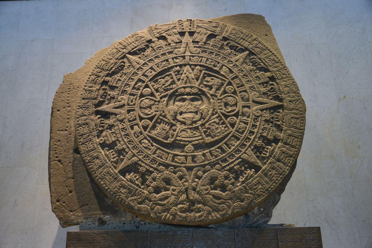 Azteken Sonnenstein