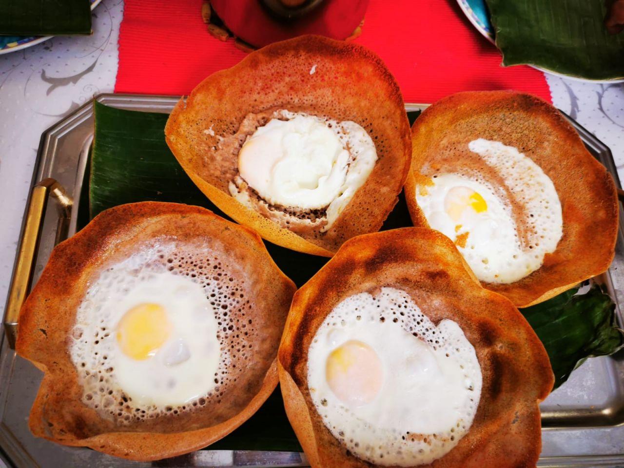 Vier Egg-Hoppers