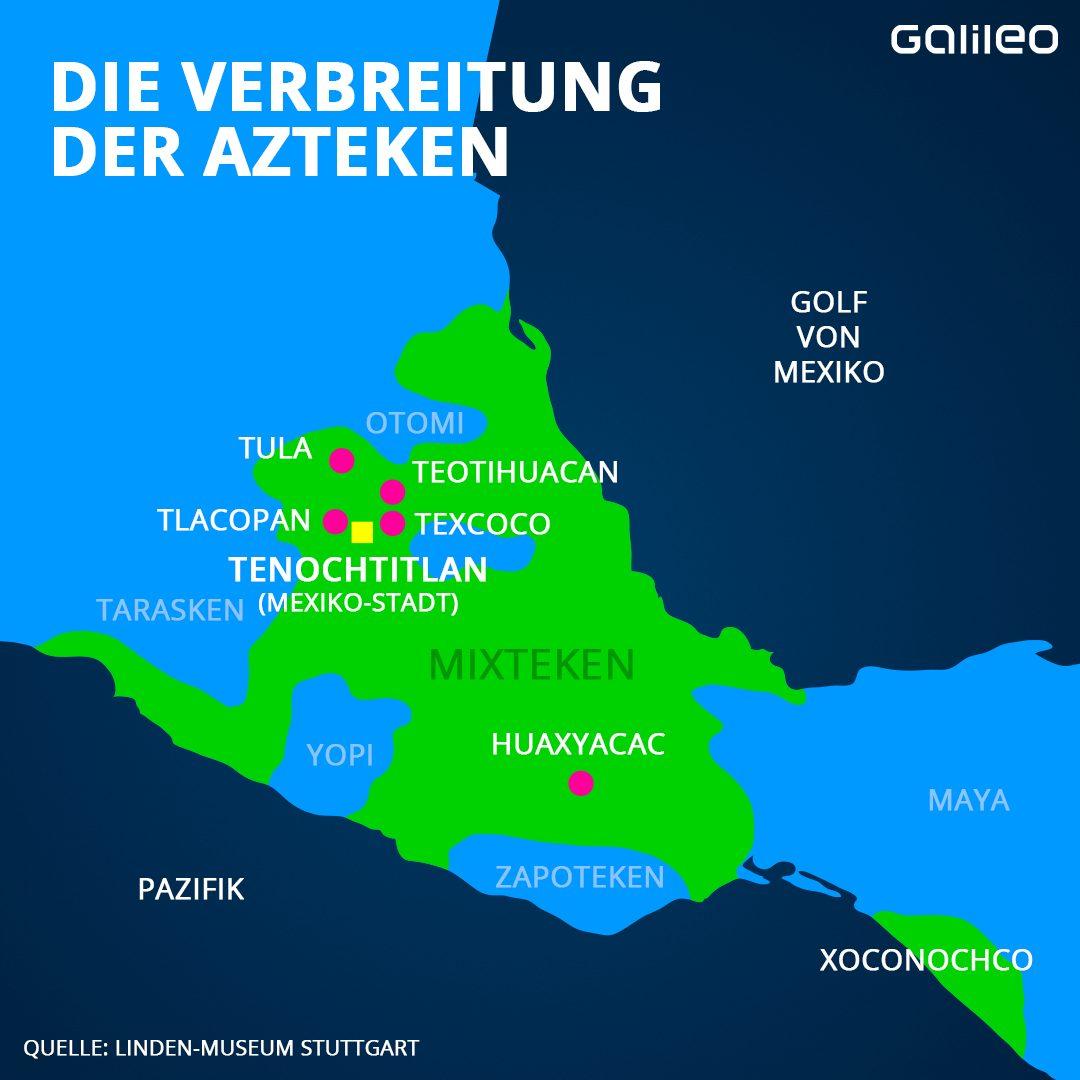 Die Verbreitung der Azteken