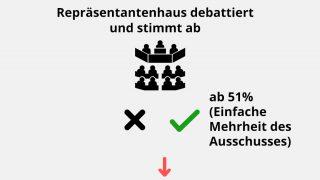 Repräsentantenhaus debattiert und stimmt ab