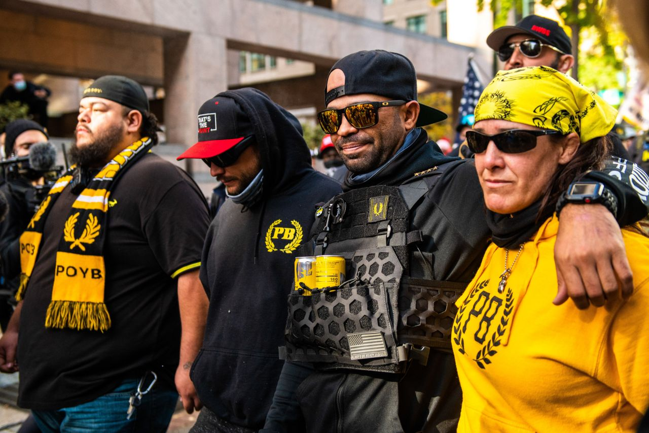 Henry 'Enrique' Tarrio Proud Boys